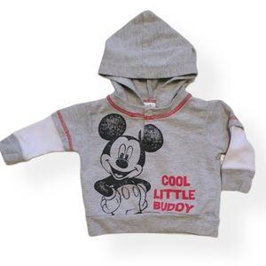 Disney Baby Mickey Mouse long sleeved hoodie